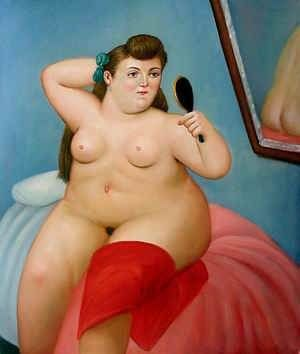 Fernando Botero Art Reproduction Oil Paintings