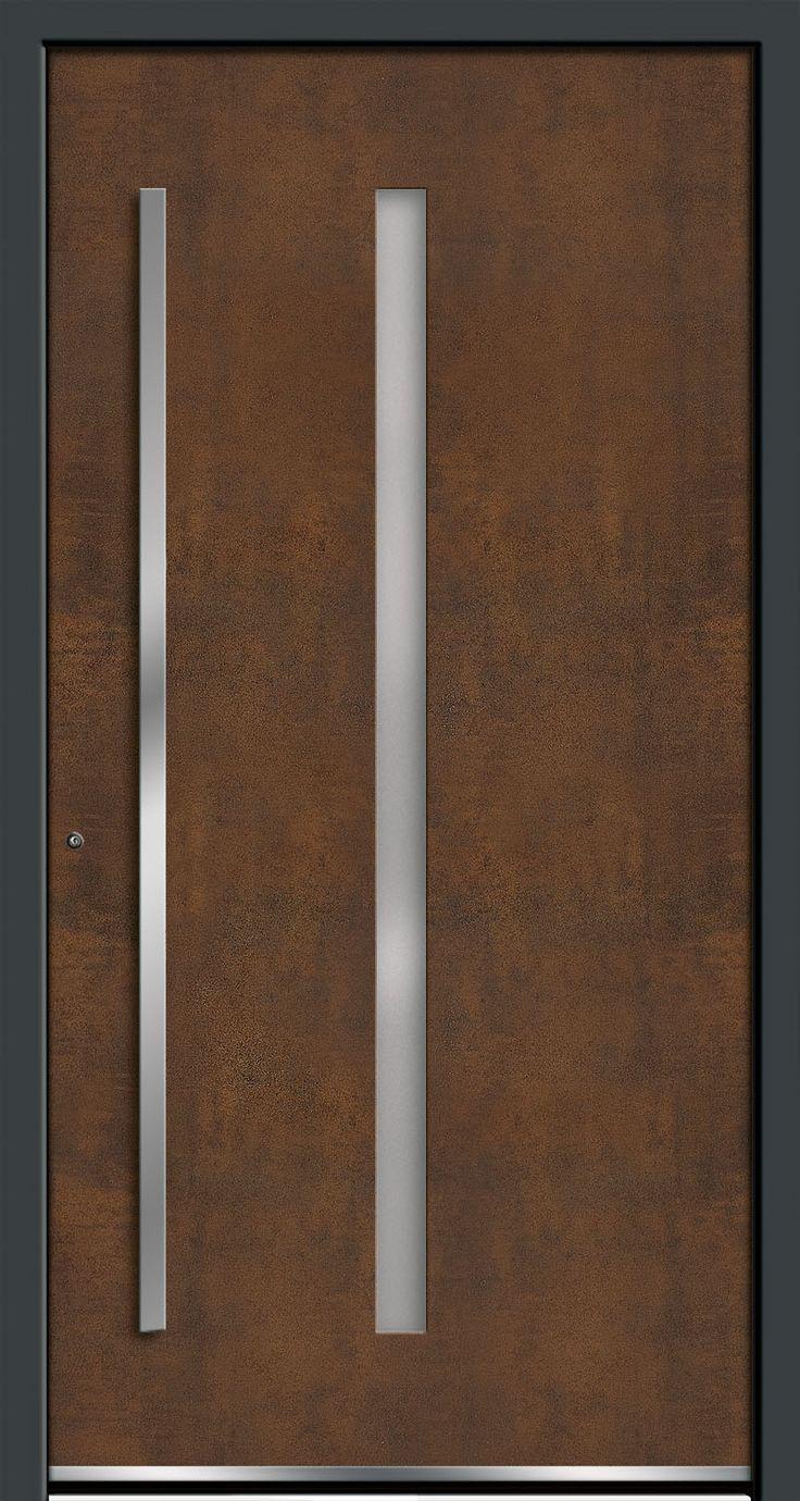 Exclusive entrance doors Art-Corten RODENBERG Türsysteme AG