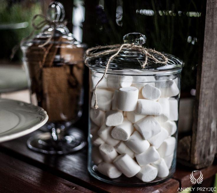19. Lavender Wedding,Sweet table / Wesele lawendowe,Słodki stół,Anioły Przyjęć