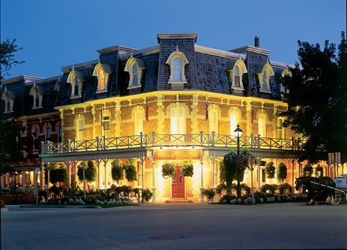 The Prince of Wales Hotel, Niagra-on-the-Lake, Ontario, Canada.  Located in the heart of historic Niagara-on-the-Lake, this treasured landmark hotel is an oasis of Victorian elegance filled with 21st century comforts.