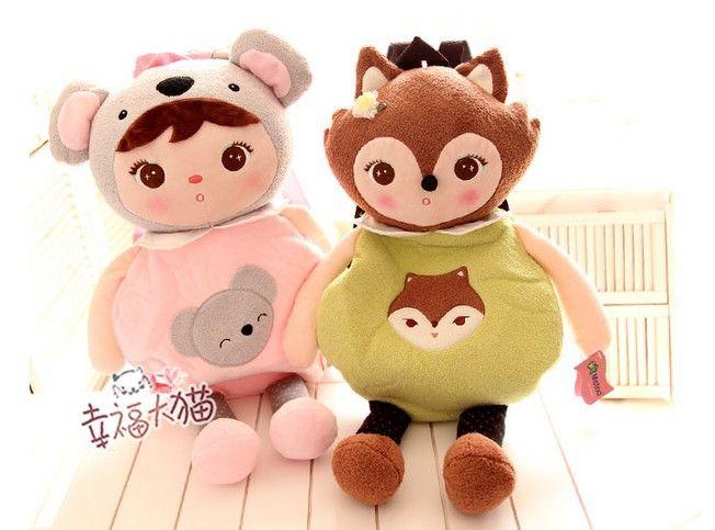 Бесплатная доставка каваи мультфильм животных девушка хлопчатобумажных тканей детская школа детский сад рюкзак в розницу, принадлежащий категории Школьные ранцы и относящийся к Багаж и сумки на сайте AliExpress.com | Alibaba Group
