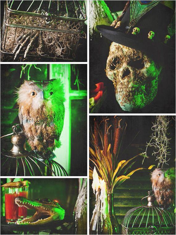 voodoo on the bayou halloween - New Orleans Halloween Parties