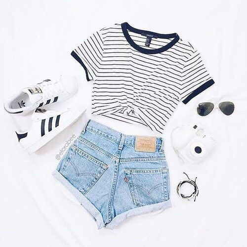 Fashion, adidas and outfit image, #adidas #image #outfit   – Frauen Sommer Mode