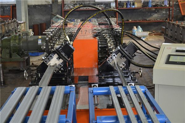 #Light #steel #profile #forming #machine is one kind of roll forming machines, usually it includes metal stud roll forming machine, metal track roll forming machine, metal furring channel roll forming machine ( omega profile roll forming machine), wall angle roll forming machine (corner bead roll forming machine), main channel roll forming machine(carrying channel roll forming machine)