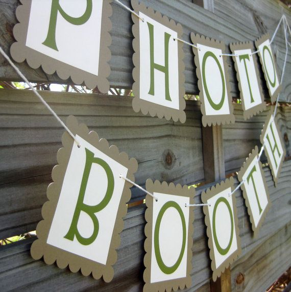$16 for outdoor photo booth signage!