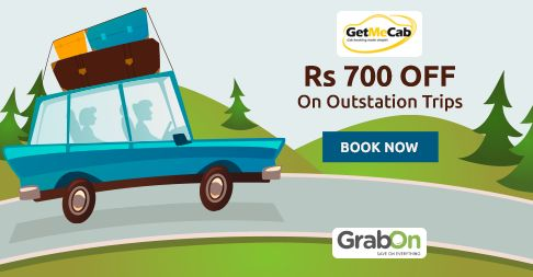 Grab This Offer Today! #GetMeCab Offers Flat Rs. 700 Off On Outstation Trips. http://www.grabon.in/getmecab-coupons/ #SaveOnGrabOn