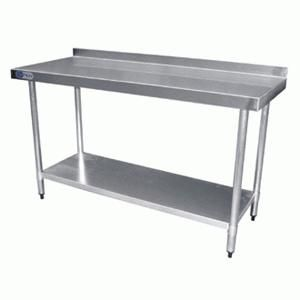 Mesa de trabajo ideal para restaurantes y cocinas for Mesas industriales