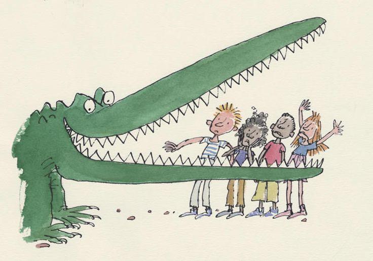The Enormous Crocodile from The Enormous Crocodile by Roald Dahl