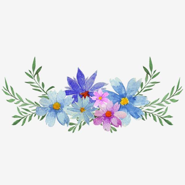 Watercolor Flower Bouquet Watercolor Watercolor Flower Flower
