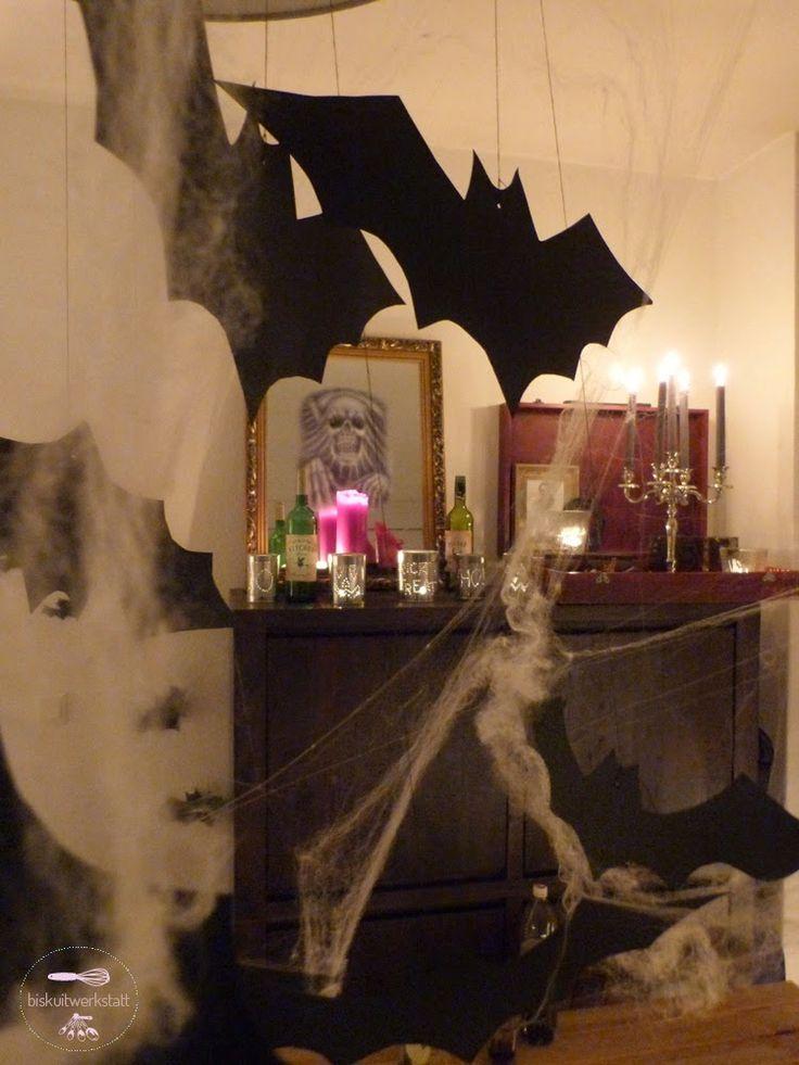 44 besten ❤ halloween \ krimidinner Bilder auf Pinterest - halloween deko wohnzimmer