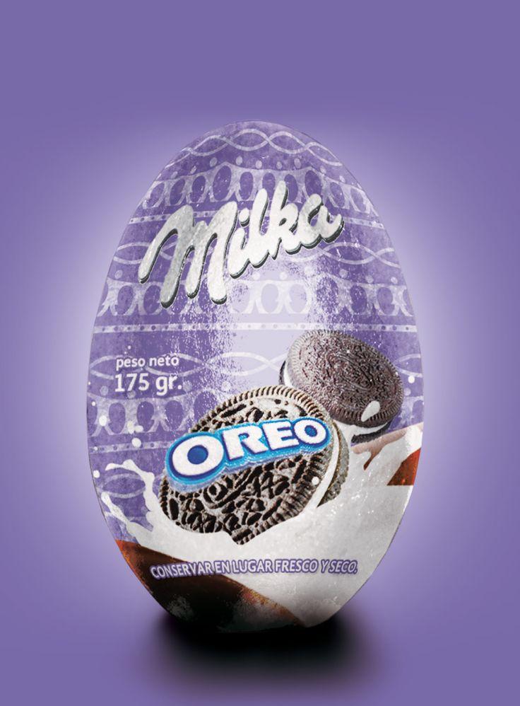Huevo milka - Oreo
