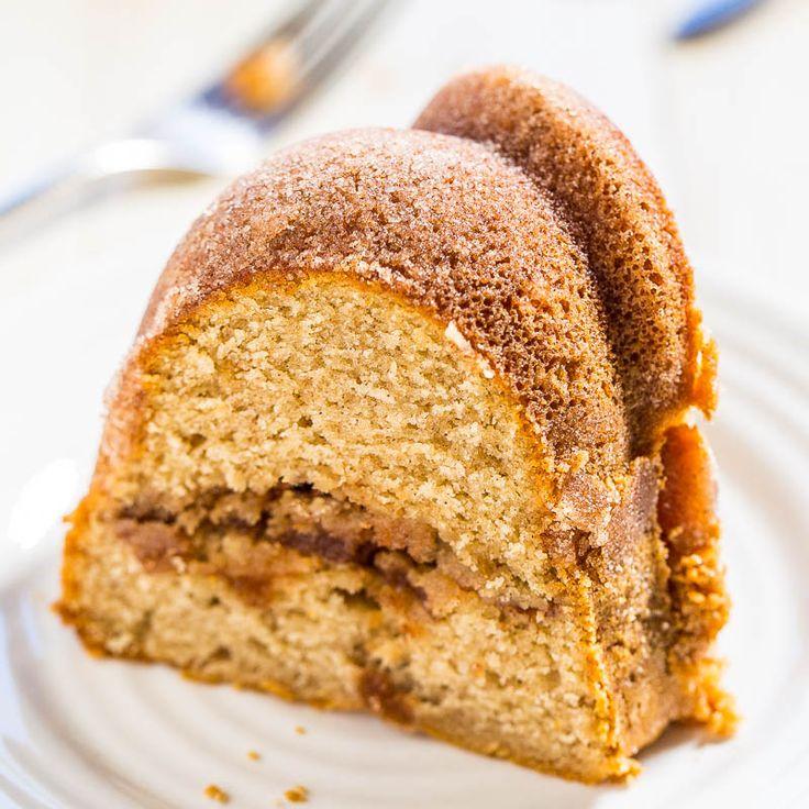 Cinnamonsugar snickerdoodle cake bundt cake recipe