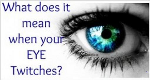 What Does It Mean When Your Eye Jumps?