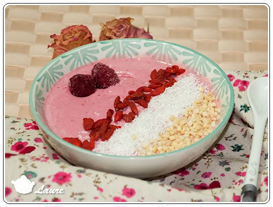 Smoothie bowl à la framboise