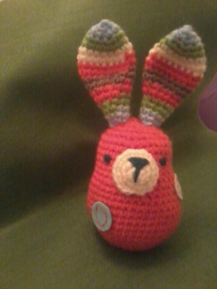 crazy bunny...