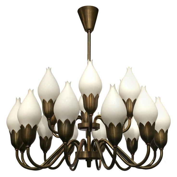 For sale on very rare to find example of an elegant original seguso six arms blown glass chandelier