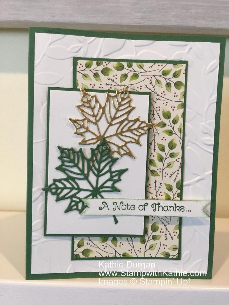 Stampin' Up! PP363 Just A Note