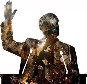 Партитуру войны пишут политики. Два самых влиятельных института общественных отношений – армия и политика – совместно вершат судьбы мира Политика определяет цели и социальный характер войны, решающим образом воздействует на ее интенсивность и способы веден�