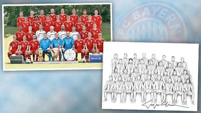 Los futbolistas del Bayern de Munich vestirán de Armani