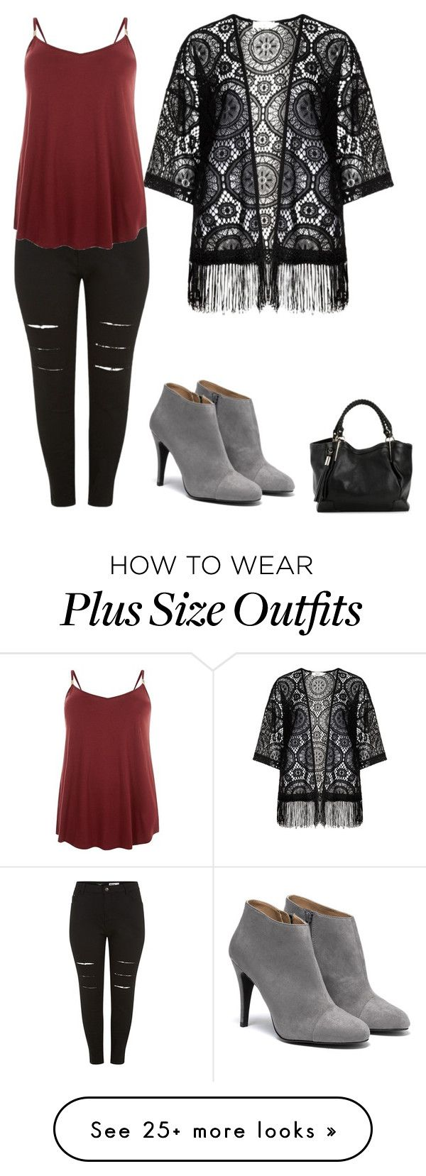 """Everyday "" by laura-lee-22 on Polyvore featuring Zizzi"
