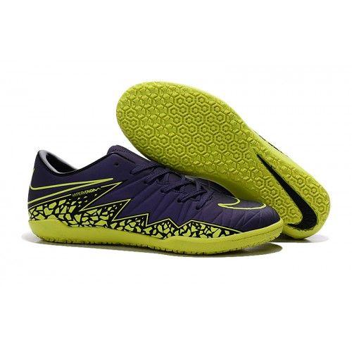 botas de futbol de Nike Hypervenom Rojo,Botas de fútbol para hombre Nike Hypervenom Phelon II IC azul azul