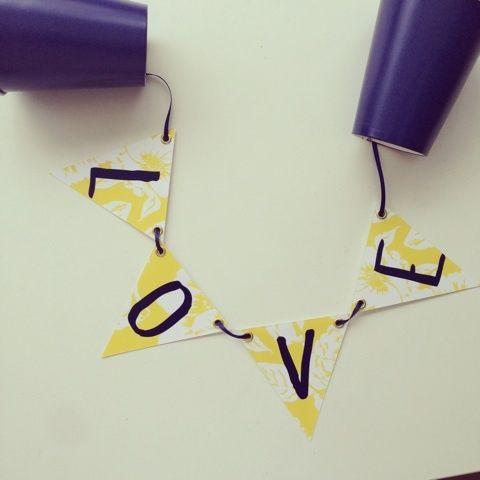 「【御礼!】nippie's DIY もしもし♩「糸電話ガーランド」と申します。」の画像|nippieのブログ |Ameba (アメーバ)