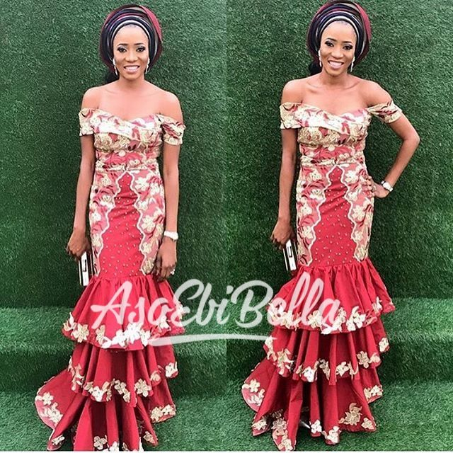 BellaNaija Weddings presents #AsoEbiBella – Vol. 176 – The Latest Aso Ebi Styles