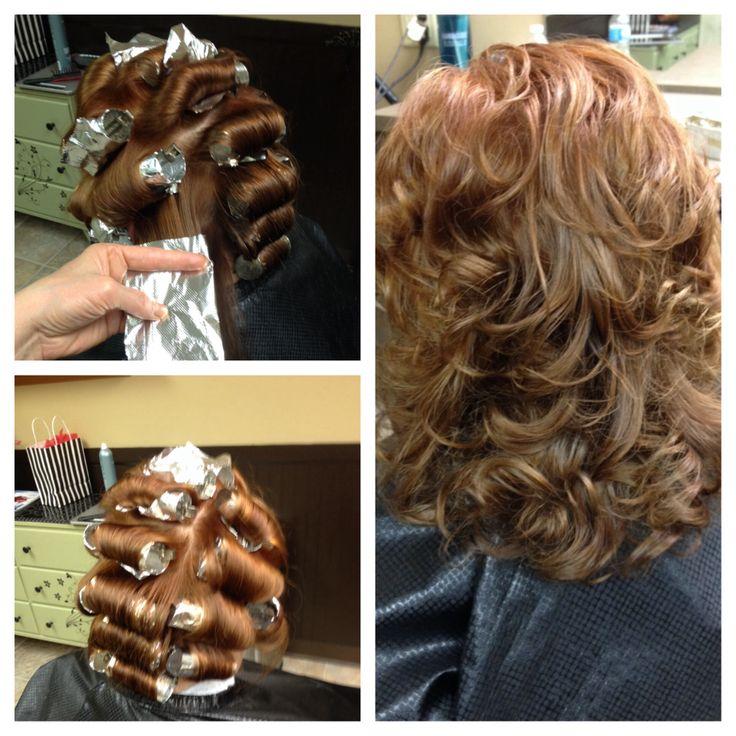 Aluminum foil curls