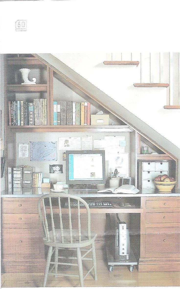 Home Office Under Stairs Design Ideas: Under Stair Office