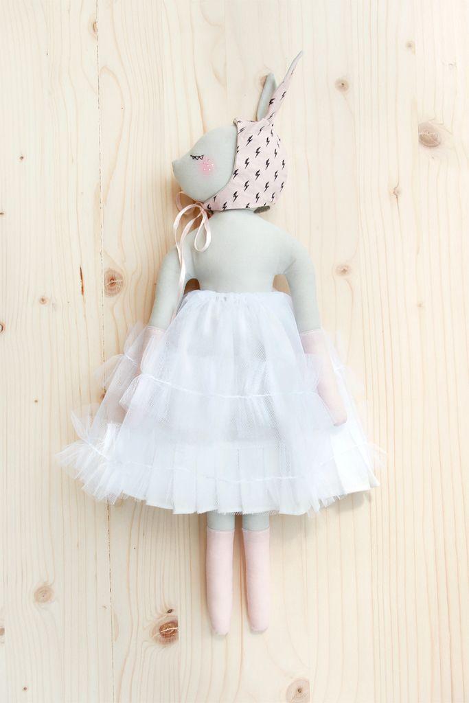 'Confiture de Pailettes ' by Maiwenn Philouze / Handmade doll