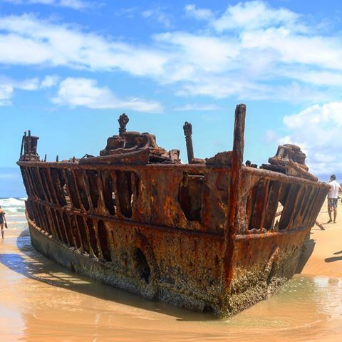 #fraserisland #mahenoshipwreck #geilstezeit #palaceadventures 👌🏽👌🏽🚌