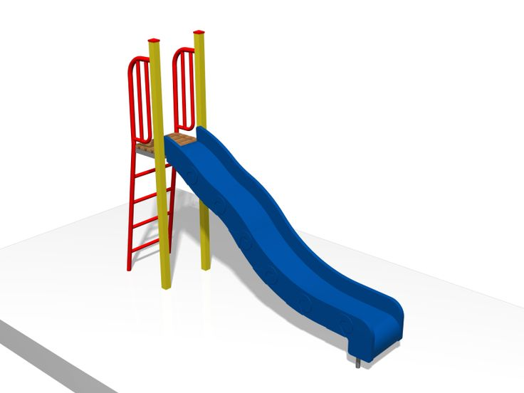 Free standing slide unit with 1500 high wave slide. #PlaygroundCentre #PlaySpace #PlayGround #Fun #PlaygroundSlides #Slides