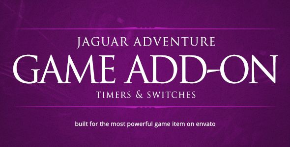 Timers & Switches - Jaguar Game Engine Addon