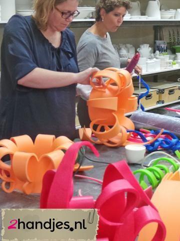In enkele uurtjes een foamhoed of pruik maken   dagdeelworkshops   workshops