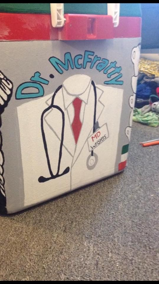 dr mcfratty grey's anatomy cooler