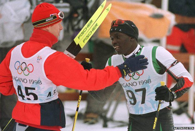 THIS IS WHAT IT IS ALL ABOUT! I love these stories of athletes and countries supporting eachother- Philip Boit and Bjorn Daehlie: Cross-country friends