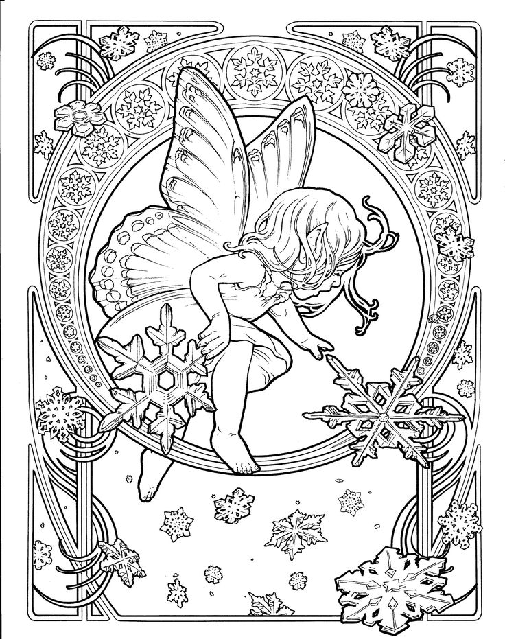 Perfect Alphonse Mucha Coloring Pages