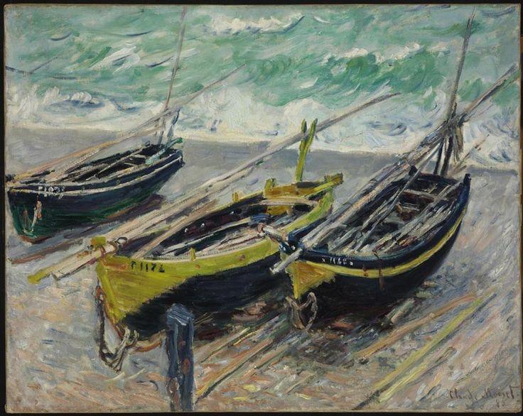 Claude Monet, Tre barche da pesca