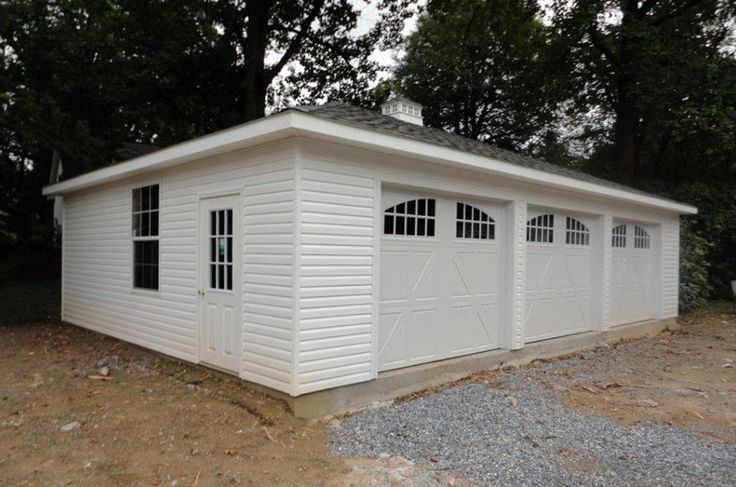 3 stall garage detached metal - Google Search | garages