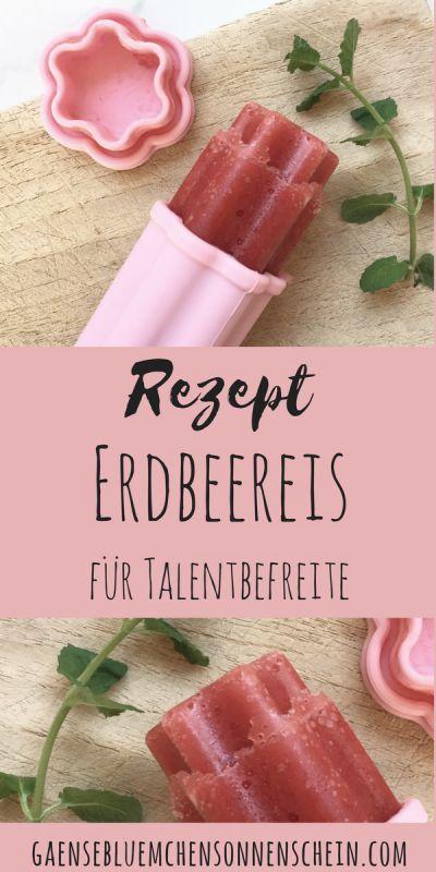 So schmeckt der Sommer: Erdbeereis selbstgemacht | Rezept für Talentbefreite | so geht's schnell und einfach