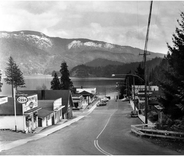 The most requested photograph from the Deep Cove Heritage Society's archives