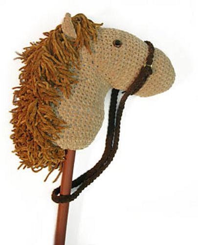 Stick horse. Free pattern.