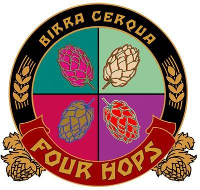 Birrificio Cerqua: 4 luppoli! Stasera torna la Four Hops Emoticon wink