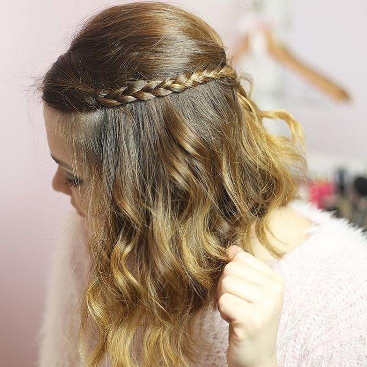 Tem vídeo de penteado? Tem sim! Ensinei a fazer um bump com acabamento de tranças fácil e lindo inspirado na Rapunzel. Pra todo mundo ser princesa real! Ps: já está no ar no Youtube! #SouPrincesaSouReal #ad #Disney