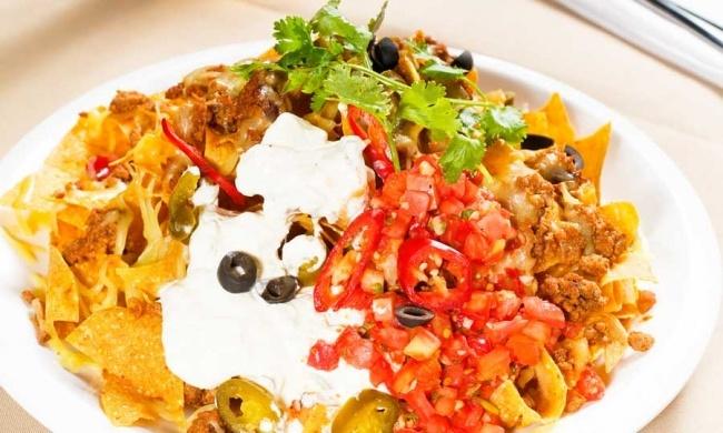 black bean nachos | MEXICAN FOOD | Pinterest