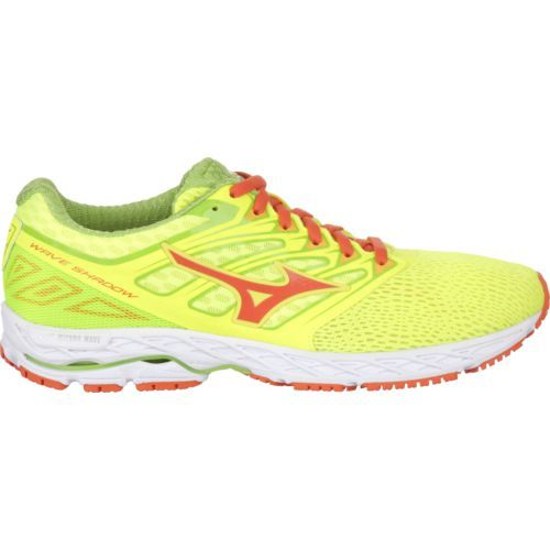 Mizuno Men's Wave Shadow Running Shoes (Yellow/Orange, Size 9.5) - Men's Running Shoes at Academy Sports