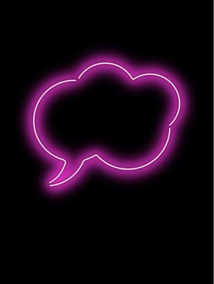 Another eye-catching image in the shape of a speech bubble that I could use for a flash. It could also be perfect for plugs or cover lines on my FC.