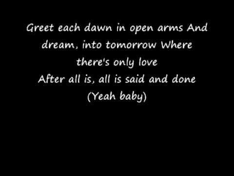 After All Is Said And Done - Beyonce and Marc Nelson