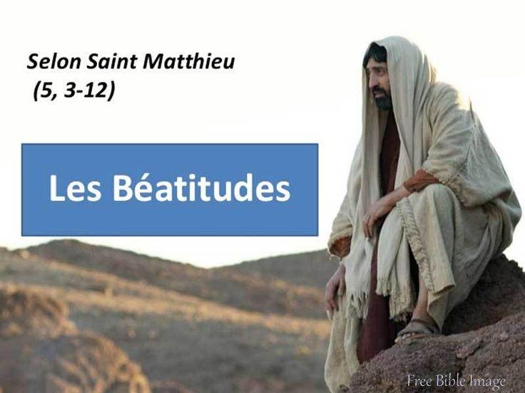 Diaporama : les Béatitudes - KT42 portail pour le caté
