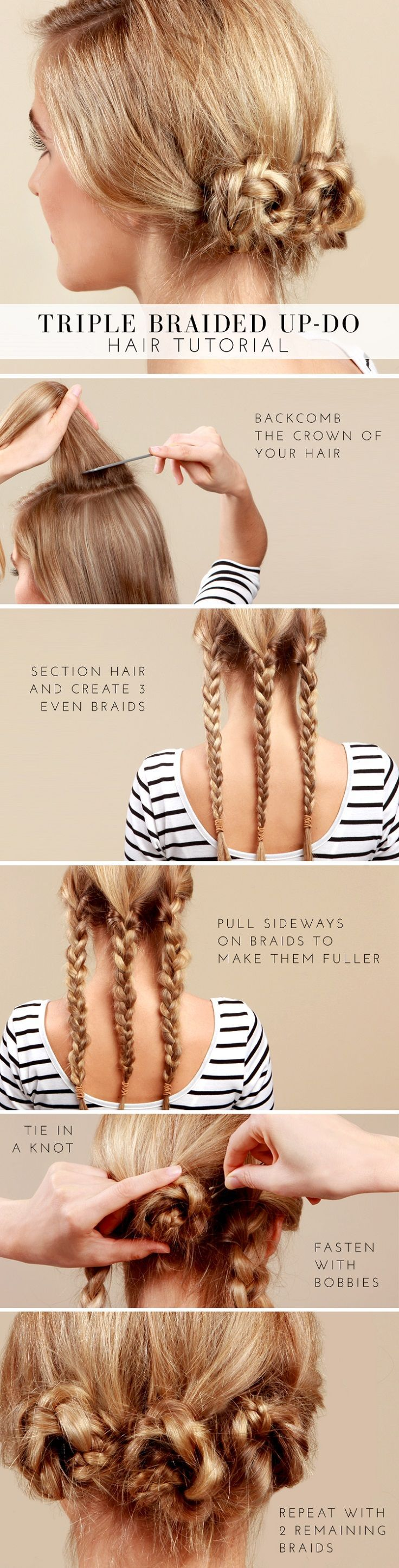 Top 10 Most Popular Hair Tutorials for Spring 2014 -